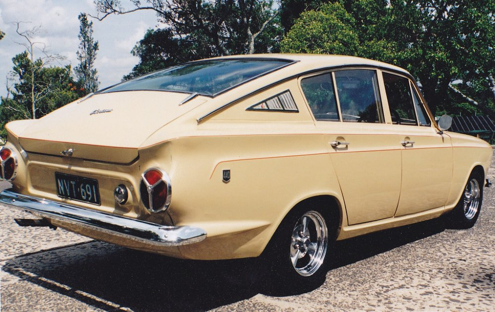 1966 Ford Cortina Fastback